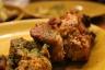 Lamb chops and lamb shanks fresh from the tandoor.