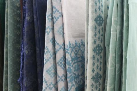 A distinctly Bangladeshi cloth.
