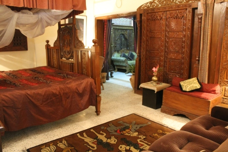 One of the guest suites.