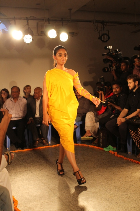 Modern Bangladeshi fashion.