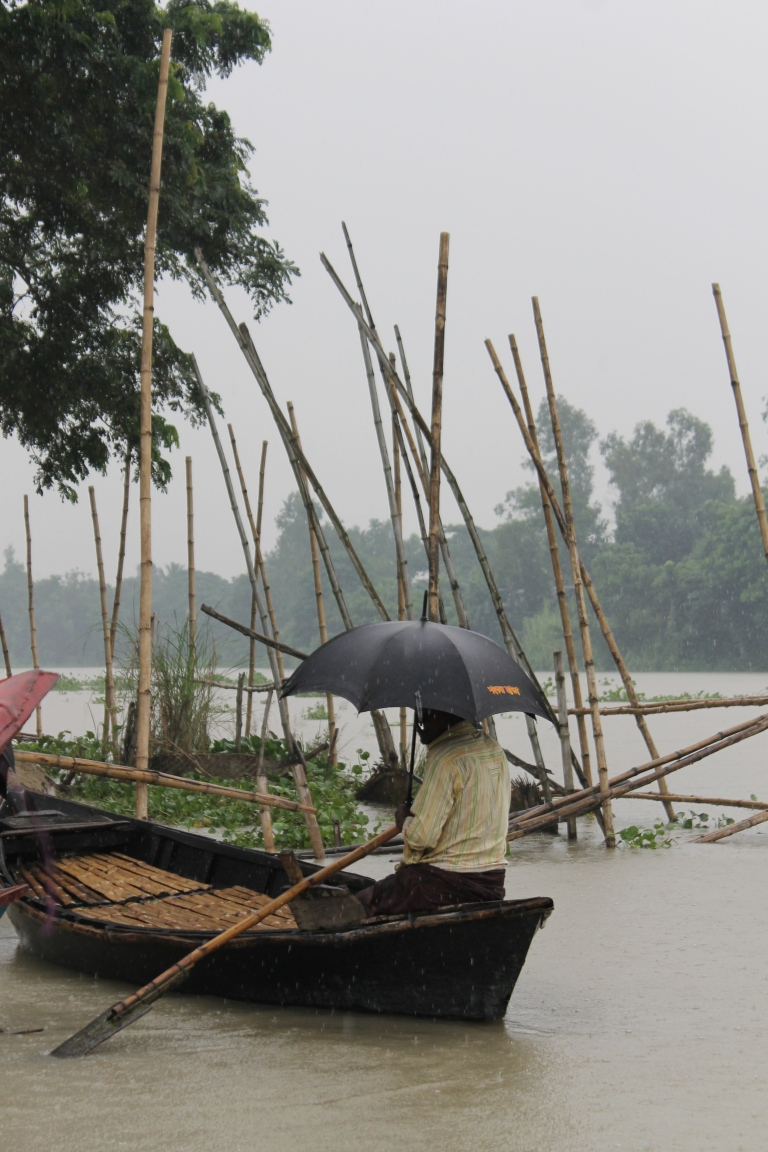 Bangladesh is an alluvial delta with lots of water.