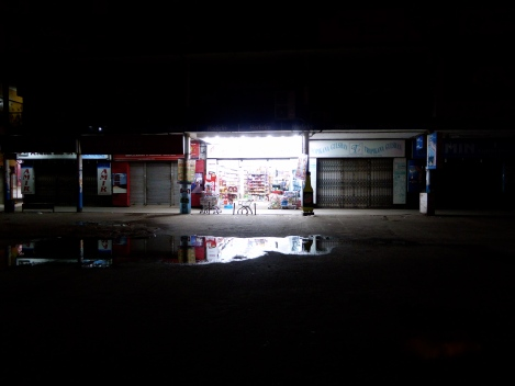 One shop was open the day after Eid-ul-Adha.