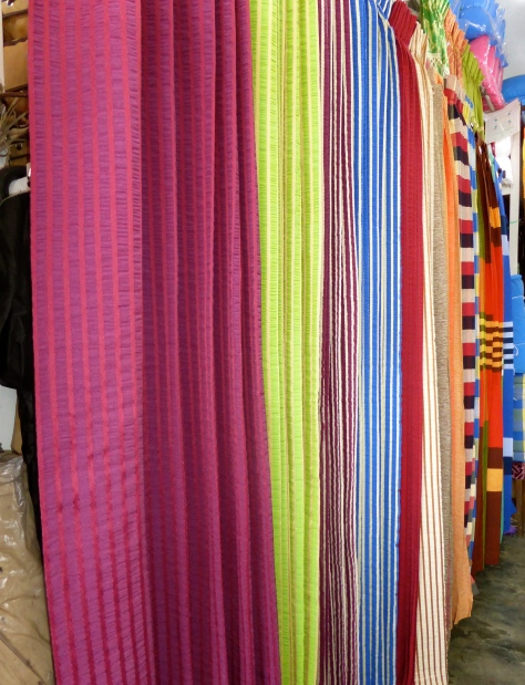 Curtains in all colors.