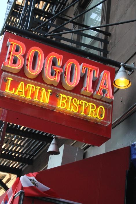 Colombian food in Brooklyn.