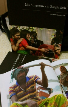 M's Adventures in Bangladesh, the book.