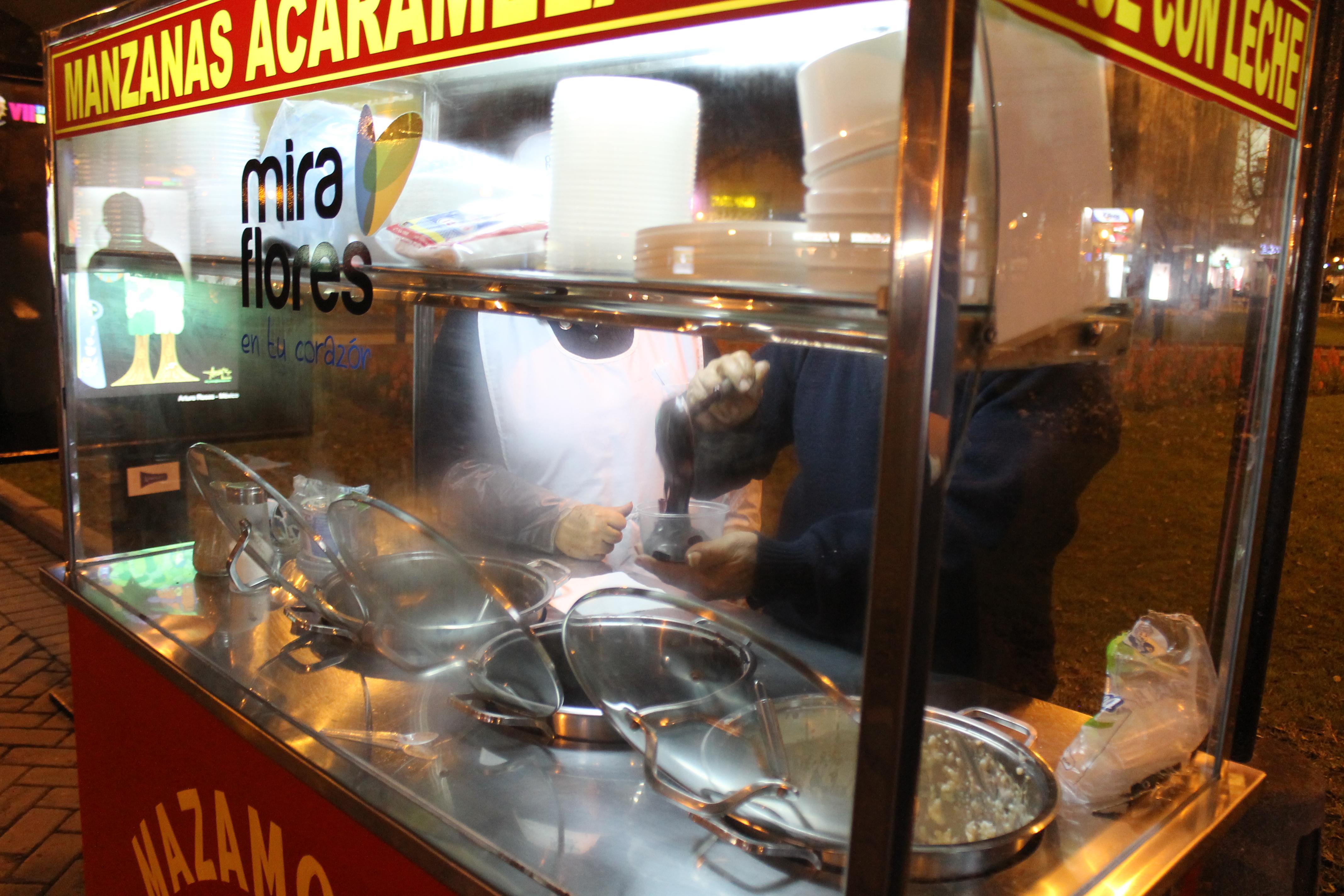 Clean food stall.