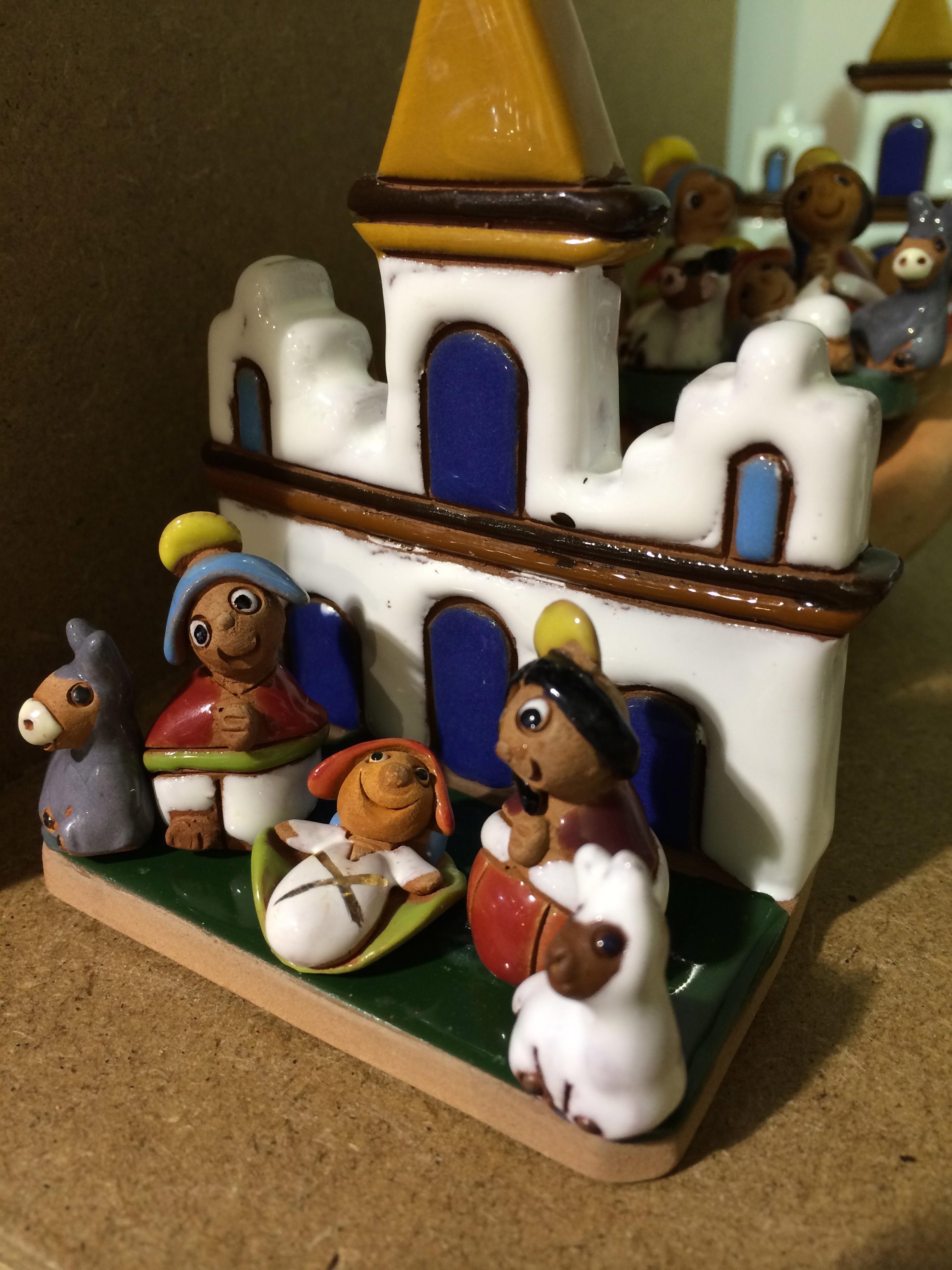 Bolivian nativity scene.