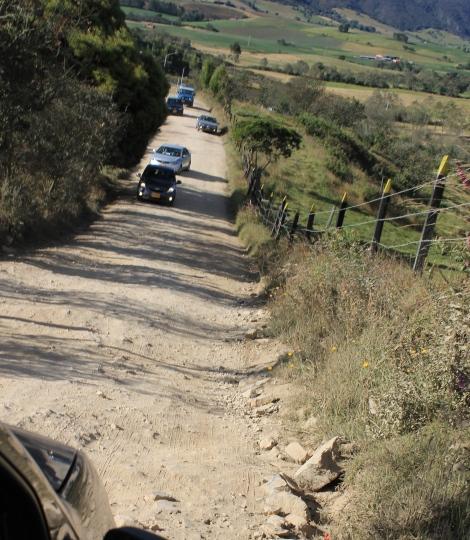 The road to el dorado.