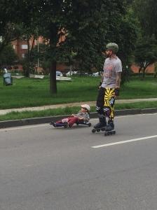 Is it a street luge?