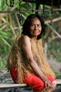 A beautiful woman of the Amazon.