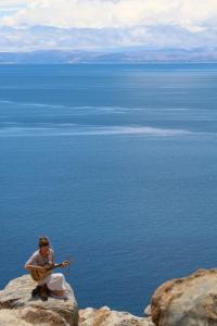 On the Island of the Sun, Lake Titicaca, Bolivia.